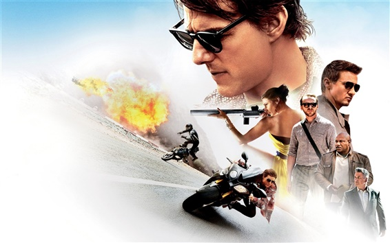 Wallpaper Mission: Impossible, Rogue Nation