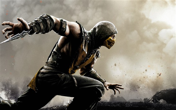 Wallpaper Mortal Kombat X, game HD