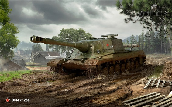 Wallpaper PC game, World of Tanks
