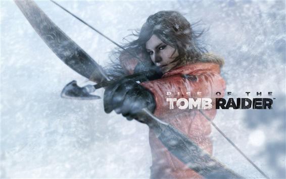 Fondos de pantalla Rise of the Tomb Raider, Lara Croft utilizar arco