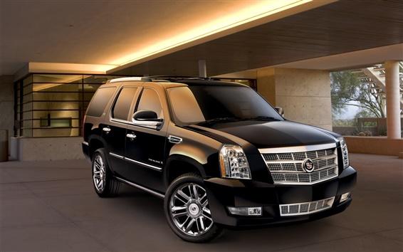 Fond d'écran 2014 Cadillac Escalade Platinum Edition voiture hybride