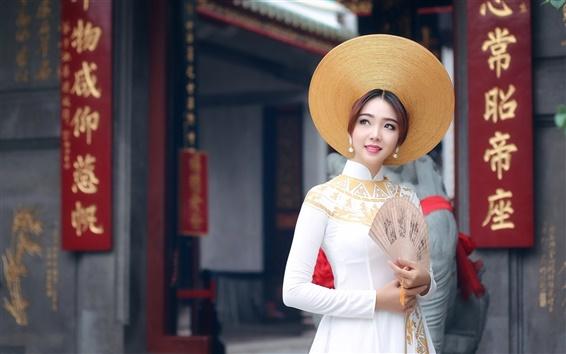 Fond d'écran Fille asiatique, la Chine