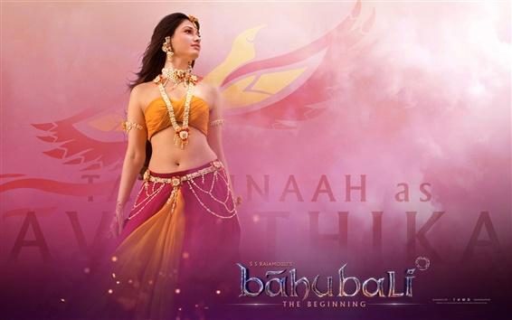Fondos de pantalla Baahubali: The Beginning, hermosa niña