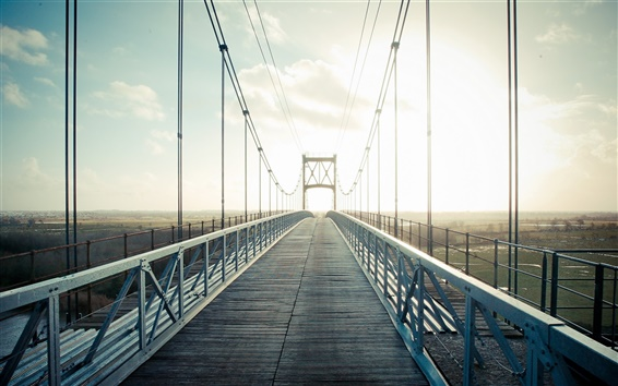 Fondos de pantalla Puente, la luz del sol