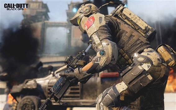 Fondos de pantalla Call of Duty: Operaciones Negro III, soldado