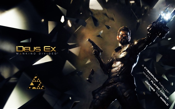 Wallpaper Deus Ex: Mankind Divided, PC game