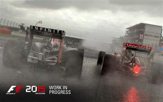 Wallpaper F1 2015, race cars