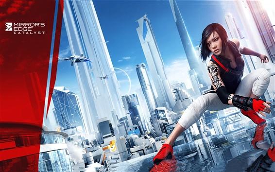 Fondos de pantalla Mirror Edge Catalyst, 2015 juego