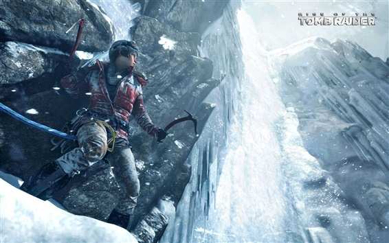 Wallpaper Rise of the Tomb Raider, 2015 game