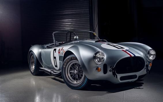 Wallpaper Shelby Cobra, retro car