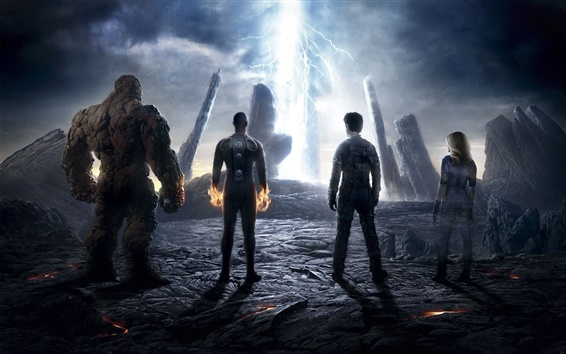 Wallpaper The Fantastic Four 2015 HD movie