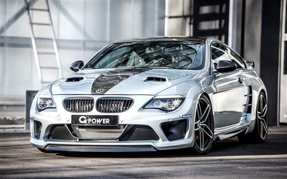 Wallpaper 2015 G-Power BMW M6 supercar
