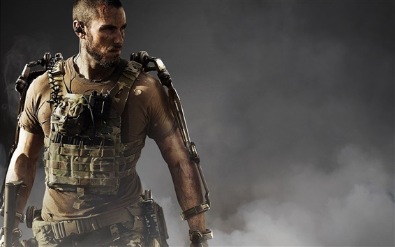 Wallpaper Call of Duty: Advanced Warfare, soldier