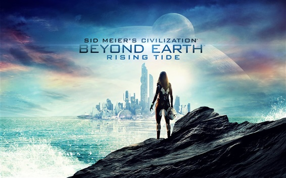 Wallpaper Civilization: Beyond Earth, PC game