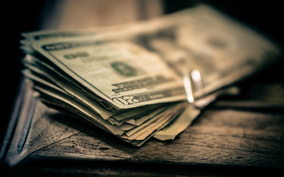 Fondos de pantalla Dinero, dólares