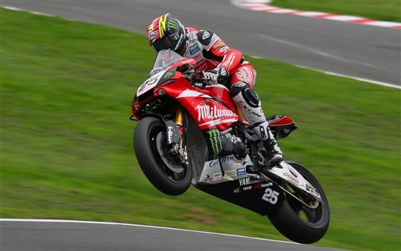 Wallpaper Motorcycle speed, racing, track