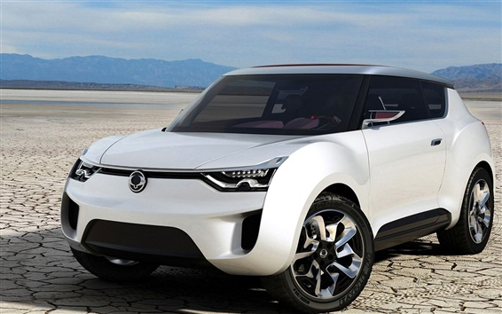 Fondos de pantalla Concepto Ssangyong coche