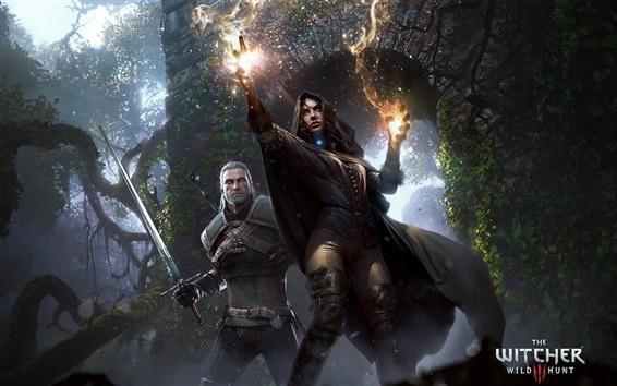 Обои Ведьмак 3: Дикая охота, игры ПК