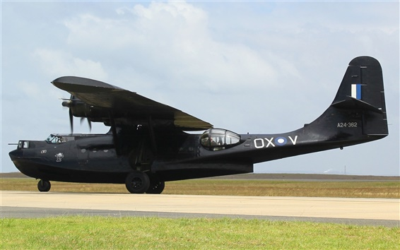 Wallpaper VH-PBZ, PBY-6A, Catalina, airplane