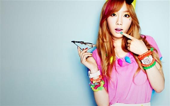Wallpaper Girls Generation 74, TaeYeon
