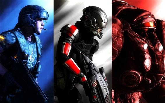 Обои Halo, Warhammer 40k, Starcraft, компьютерная игра