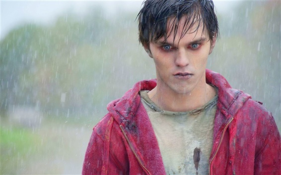 Wallpaper Nicholas Hoult, Warm Bodies