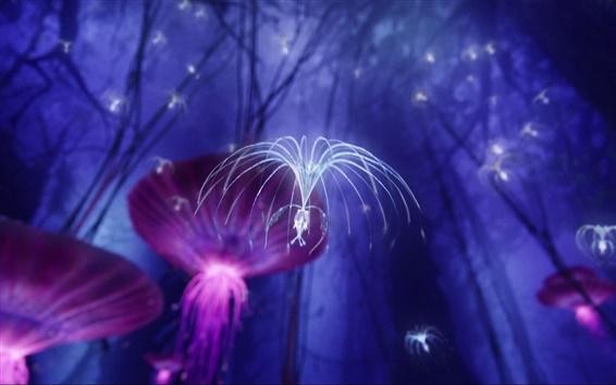 Fondos de pantalla Pandora, fantasía, Avatar