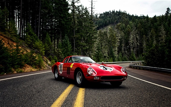 Ferrari 250 Gto Wallpapers: Fonds D'écran 1964 Pininfarina Ferrari 250 GTO Series II