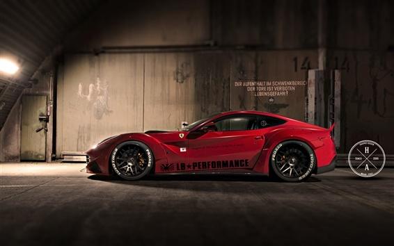 Обои Ferrari F12 Япония спортивный автомобиль