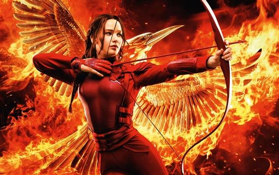 Fondos de pantalla Jennifer Lawrence, The Hunger Games: Mockingjay, Parte 2