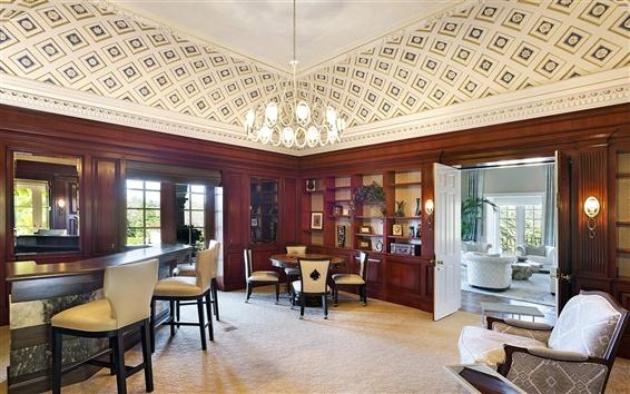 Wallpaper Luxury room, home, California, USA