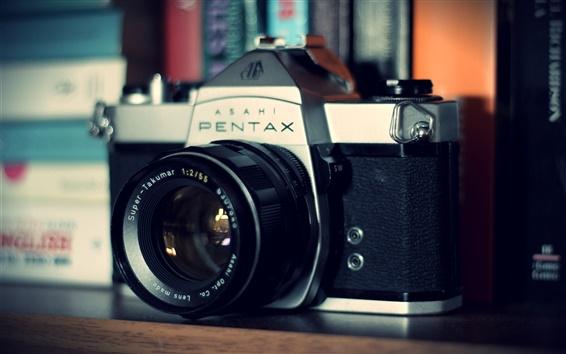 Обои Pentax камера, объектив