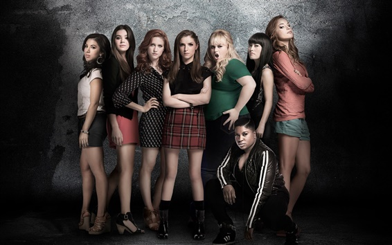 Wallpaper Pitch Perfect 2, 2015 movie