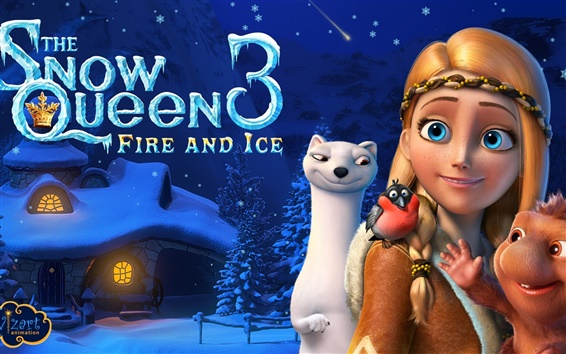 Wallpaper The Snow Queen 3: Fire and Ice