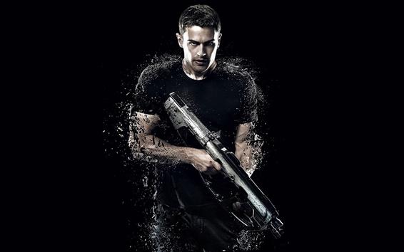 Wallpaper Theo James, Divergent 2, 2015 movie