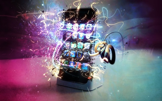 Fondos de pantalla iPhone, Apple, diseño creativo