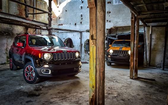 Wallpaper 2015 Jeep Renegade cars