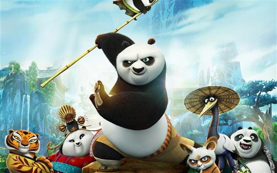 Fondos de pantalla 2016 película, Kung Fu Panda 3