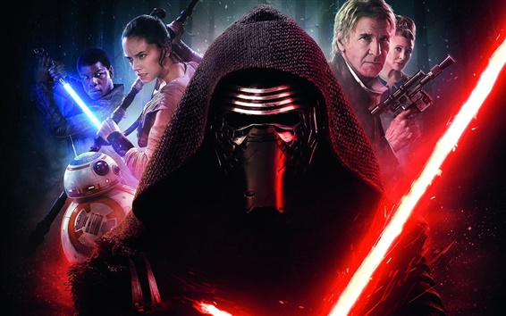Wallpaper 2016 movie, Star Wars Episode VII: The Force Awakens
