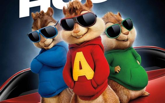 Fondos de pantalla Alvin y las Ardillas: La Viruta carretera