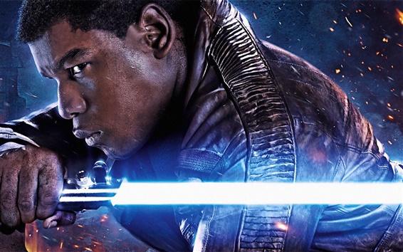 Fond d'écran John Boyega, Star Wars Episode VII: La Force Awakens