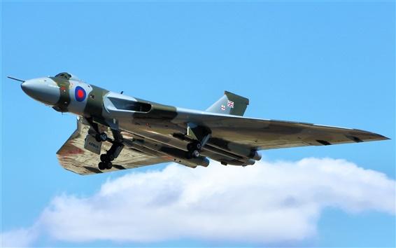 Обои Avro Vulcan стратегический бомбардировщик