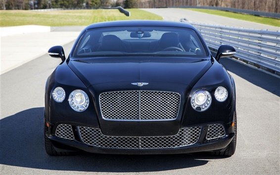 Wallpaper Bentley Continental GT Le Mans Edition car front view