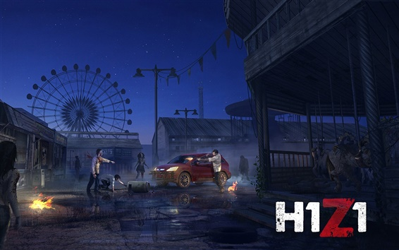Wallpaper H1Z1 PC game