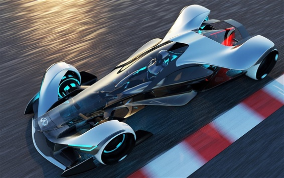 Wallpaper Infiniti Synaptiq concept sport car, speed