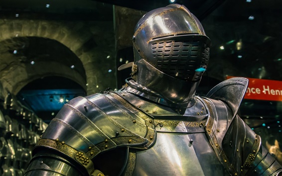 Обои Металл доспехи, рыцарь