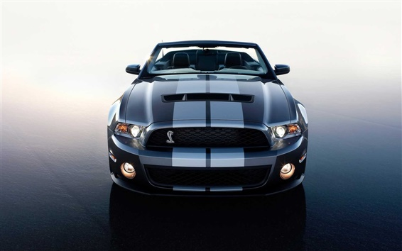 Wallpaper Shelby Cobra supercar front view