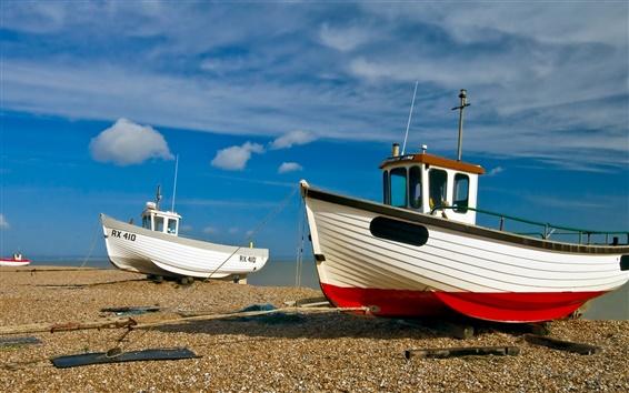 Wallpaper Ships Motorboat