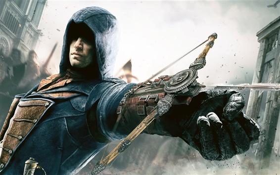 Wallpaper Assassin's Creed: Unity, crossbow, hand