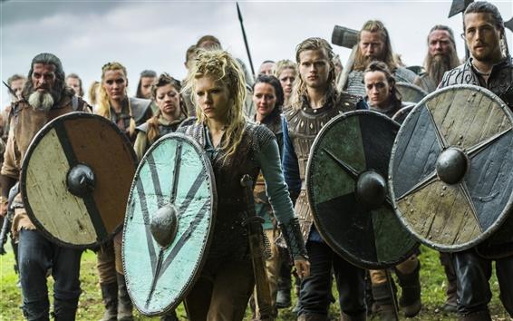 Papéis de Parede Vikings, guerreiros